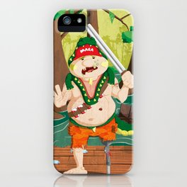 Florida Man iPhone Case