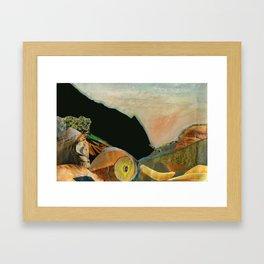 Le canal de Tourves Framed Art Print