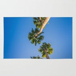 Upside Down LA Palms Rug