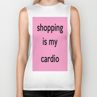 shopping Biker Tanks featuring SHOPPING by I Love Decor