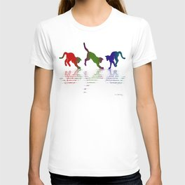 CATS RAINBOW II T-shirt