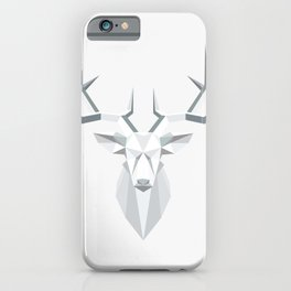 gray architectural moose in nature iPhone Case