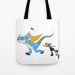 Hungry Stormfly Tote Bag