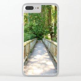 A little Deceptive Clear iPhone Case