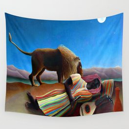 Henri Rousseau Sleeping Gypsy Wall Tapestry