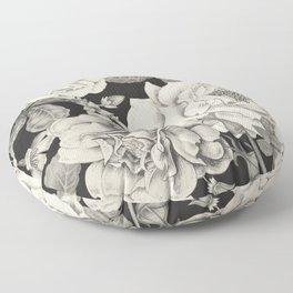 NATURE IN SEPIA Floor Pillow