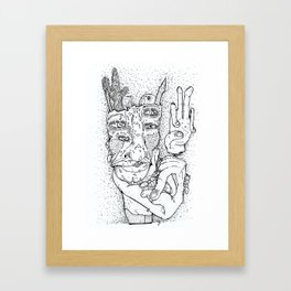 Ant King Framed Art Print