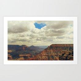 I Heart The Grand Canyon Art Print