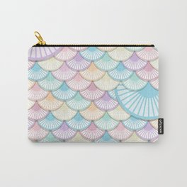 Pastel Wagon Wheels Carry-All Pouch