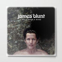 JAMES Metal Print