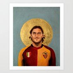 Francesco Tott.i (2001) - Football Icon Art Print
