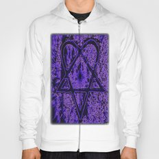 Violet Thoughts - Heartagram Hoody