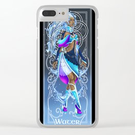 Water woman Clear iPhone Case