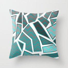NL 7 Chevron Mosaic Throw Pillow