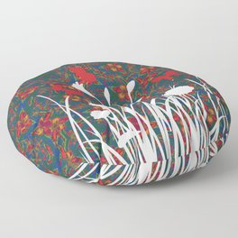 Happy spring holiday Floor Pillow