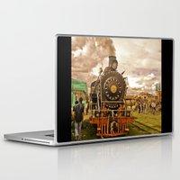 train Laptop & iPad Skins featuring Train by Alejandra Triana Muñoz (Alejandra Sweet