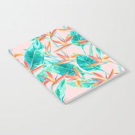 Birds of Paradise Blush Notebook