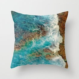 Rocky Beach No1 Throw Pillow