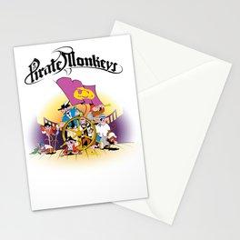 Pirate Monkeys Stationery Cards