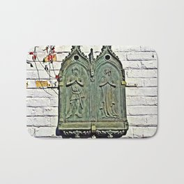 The Lady and the Knight Bath Mat