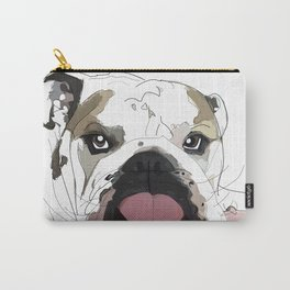 English Bulldog Love Carry-All Pouch