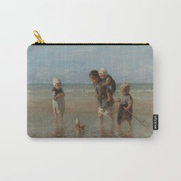 Children of the Sea, Jozef Israëls (1872) Carry-All Pouch