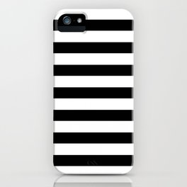 black stripes iPhone Case