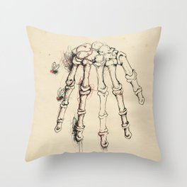 Cabinet of Curiosities No.2 Throw Pillow