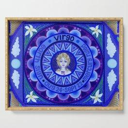 Astrological Sign of Virgo Serving Tray