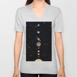 Planetary Solar System Unisex V-Neck