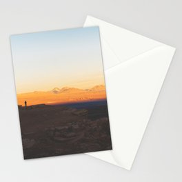 Sunset over the Atacama Desert, Chile Stationery Cards