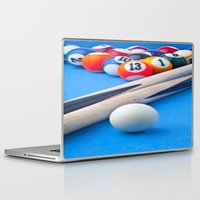 gaming Laptop & iPad Skins featuring Gaming Table by Valerie Paterson
