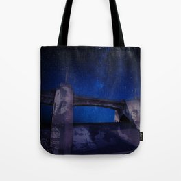 Sepulveda Dam at Night Tote Bag