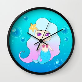 Pretty Mermaid (Gummie) Wall Clock