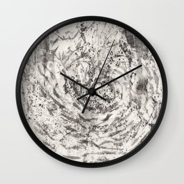 Energy Earth Moon Wall Clock