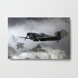 Spitfire TE311 Metal Print