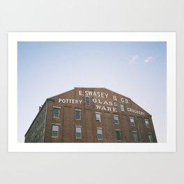 E. Swasey & Co - Portland, ME Art Print