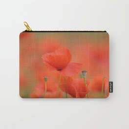 Common red poppies 1876 Carry-All Pouch