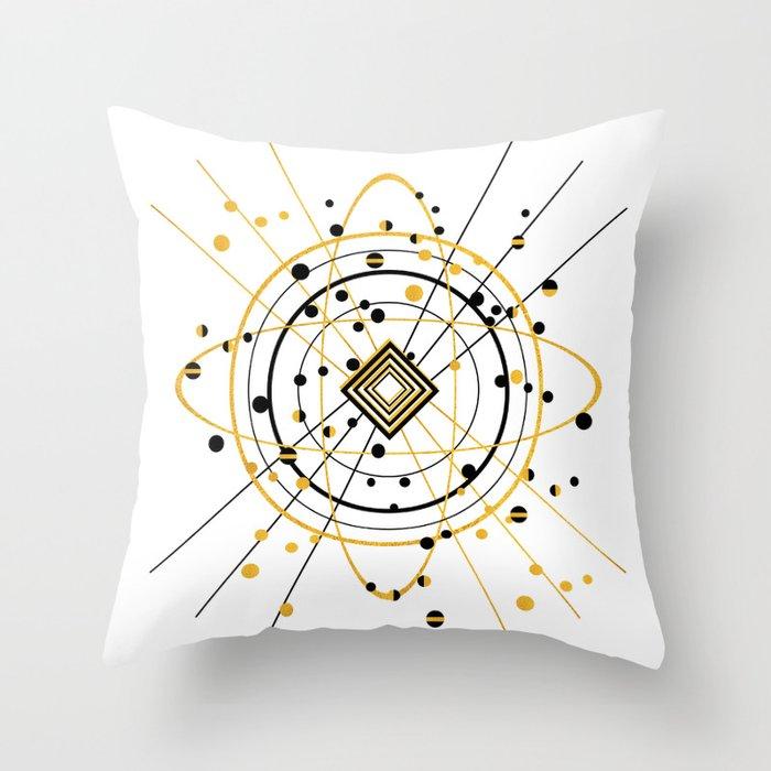 Complex Atom Throw Pillow