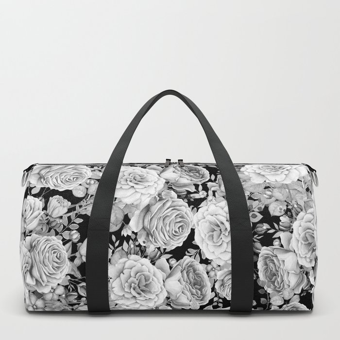 ROSES ON DARK BACKGROUND Duffle Bag