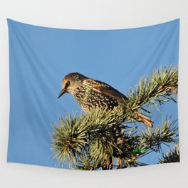 O My Starling, Clementine! Wall Tapestry