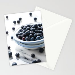 Bowl of Blueberries Stationery Cards