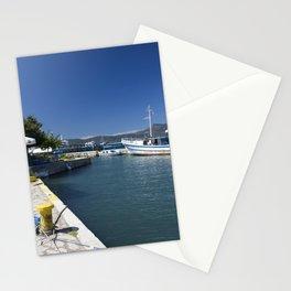 Corfu Fishing Boat Stationery Cards