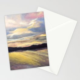 Summer Sunset Over Lake Winnipesaukee in New Hampshire Stationery Cards