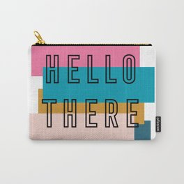 'Hello there' retro graphic design Carry-All Pouch