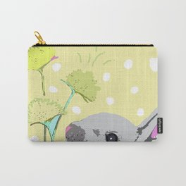 Seize the Day Bunny Carry-All Pouch