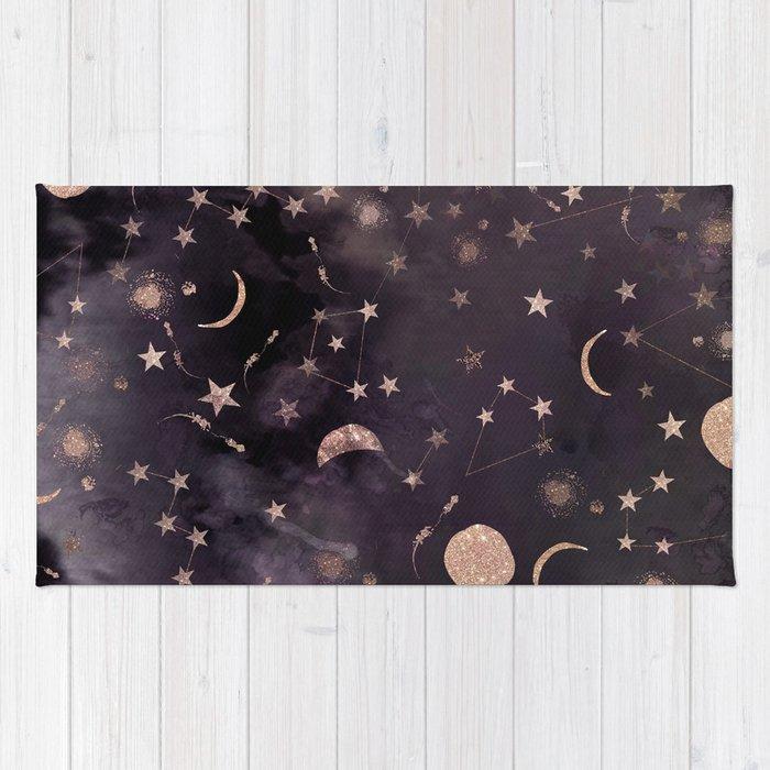 Constellations Rug By Nikkistrange Society6