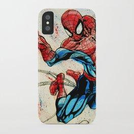 Web-Slinger Spider-Man iPhone Case