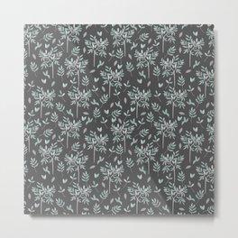 Olive - grey edition Metal Print