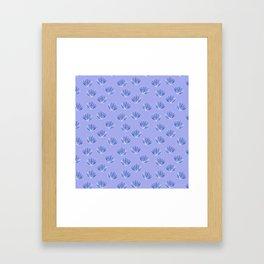 Preppy Palms Framed Art Print